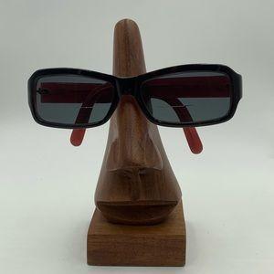 Calvin Klein Dark Tortoise Oval Sunglasses Frames